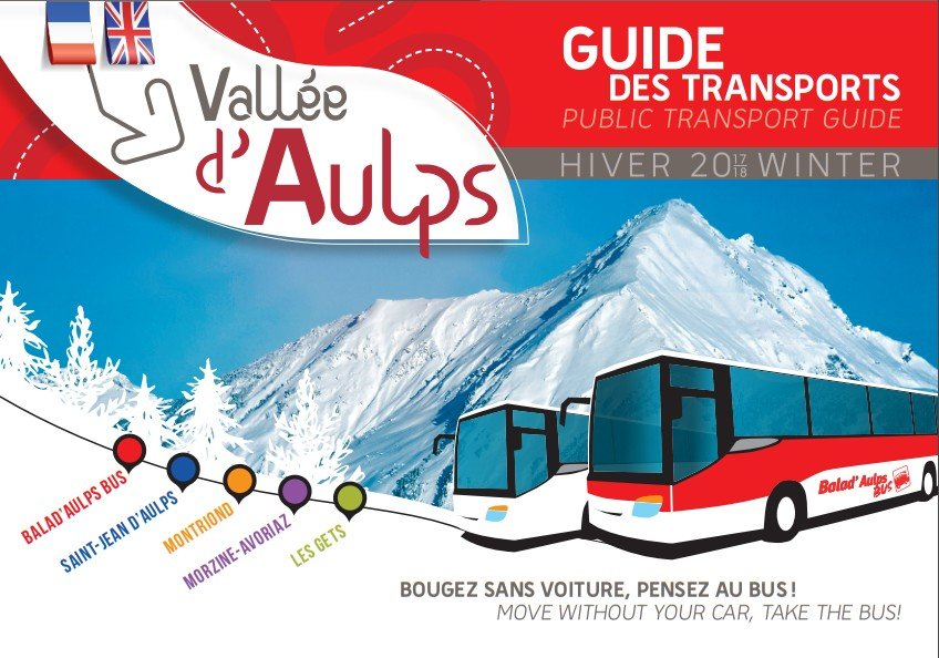 vallee d'aulps bus service around the local area