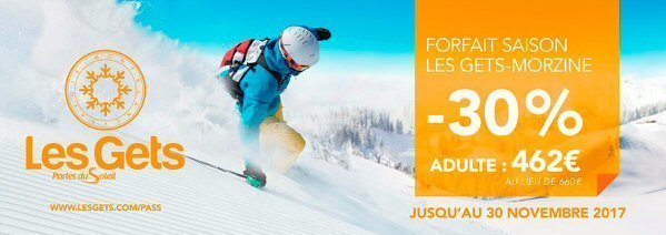 Last week to buy your ski season pass for Les Gets & Morzine