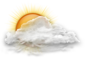 Icon for Les Gets weather forecast for 09/08/2020